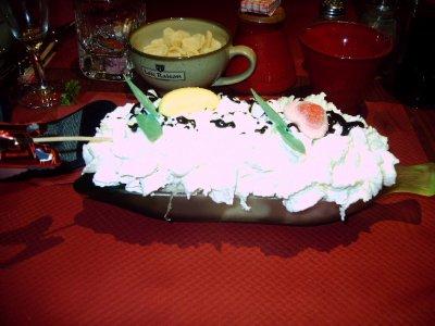 et mon dessert