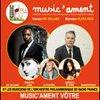 """MC Solaar et Sanseverino """"music'ament vôtre"""" au Théâtre de Neuilly"""