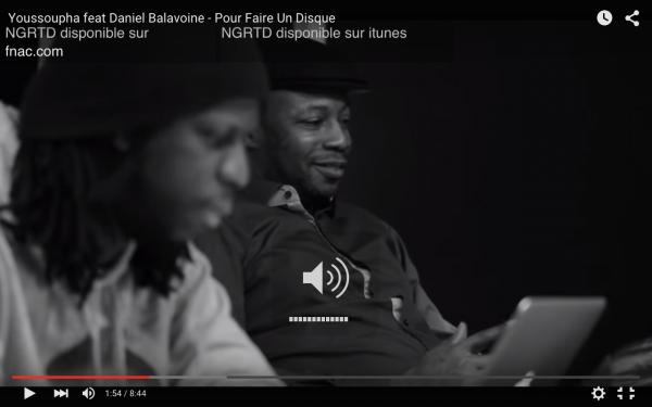 MC Solaar en studio avec Youssoupha !