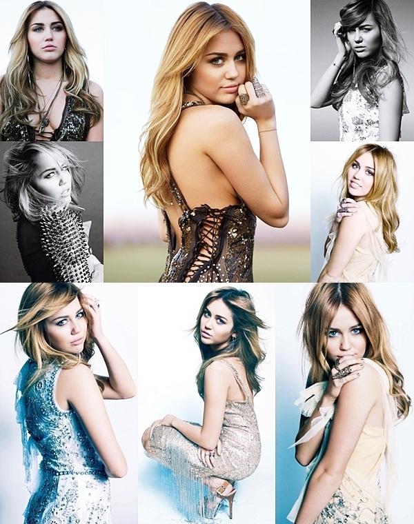 • Des nouvelles photos tirées du shoot pour le magazine Marie Claire de l'année dernière sont apparus.