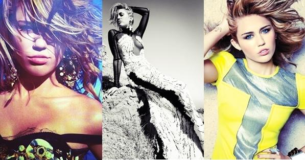 Photos Marie Claire 2012 • Voici les premières photos du shoot Marie Claire ( US 2012 ) auquel Miley a participé.