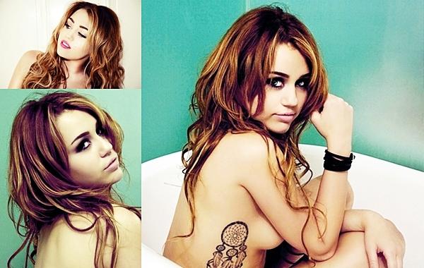 Article spécial shooting • Voici le shoot complet de Vijat Mohindra auquel Miley a participé. Puis la couverture du magazine Marie Claire ( septembre 2012 )