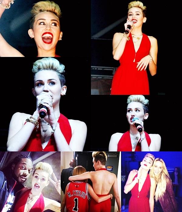 Le 17 juin 2013 •Miley et Liam ont passé la soirée ensemble et sont allés au cinéma. Cela faisait longtemps que l'on ne les avait pas vu en raison des tournages de Liam et du nouvel album de Miley !