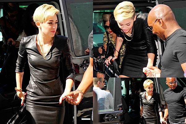 Le 23 juillet 2013  Miley a participé à une émission allemande.