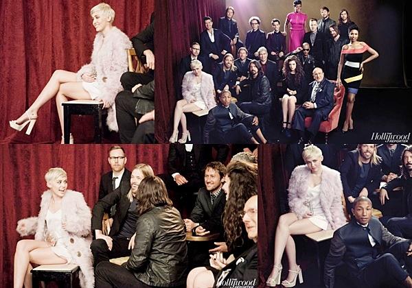 Le 30 Janvier 2014Miley été invitée de Jay Leno pour l'émission The Tonight Show.