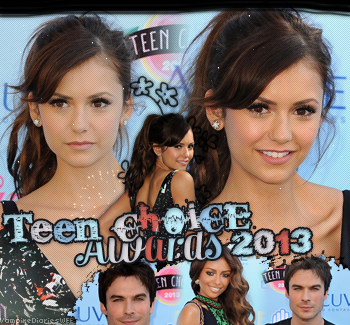‡ VAMPIREDIARIESWEB ________#Article Evenement: Teen Choice Awards 2013 «You and Katherine have a lot more in commun than just your looks.»_____'.____~ _Création_ ¦ _Inspi décoration_ ¦ _Newsletter_