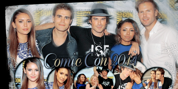 ‡ VAMPIREDIARIESWEB ________#Article Convention: Comic Con 2014 «You and Katherine have a lot more in commun than just your looks.»_____'.____~ _Création_ ¦ _Inspi décoration_ ¦ _Newsletter_