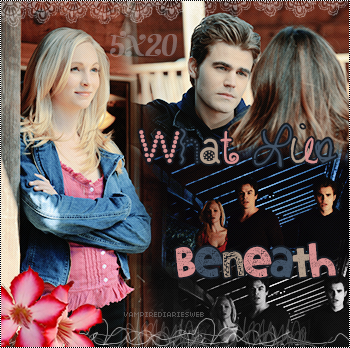 ‡ VAMPIREDIARIESWEB ________#Article Episode: 5X20 - What Lies Beneath «You and Katherine have a lot more in commun than just your looks.»_____'.____~ _Création_ ¦ _Inspi décoration_ ¦ _Newsletter_