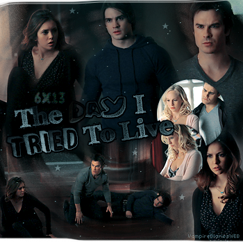 ‡ VAMPIREDIARIESWEB ________#Article Episode: 6X13 - The Day I Tried to Live «You and Katherine have a lot more in commun than just your looks.»_____'.____~ _Création_ ¦ _Inspi décoration_ ¦ _Newsletter_