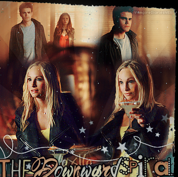 ‡ VAMPIREDIARIESWEB ________#Article Episode: 6X16 - The Downward Spiral «You and Katherine have a lot more in commun than just your looks.»_____'.____~ _Création_ ¦ _Inspi décoration_ ¦ _Newsletter_