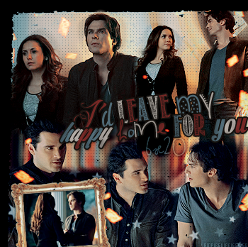 ‡ VAMPIREDIARIESWEB ________#Article Episode: 6X20 - I'd Leave My Happy Home For You «You and Katherine have a lot more in commun than just your looks.»_____'.____~ _Création_ ¦ _Inspi décoration_ ¦ _Newsletter_