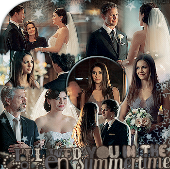 ‡ VAMPIREDIARIESWEB ________#Article Episode: 6X21 - I'll Wed You In The Golden Summertime «You and Katherine have a lot more in commun than just your looks.»_____'.____~ _Création_ ¦ _Inspi décoration_ ¦ _Newsletter_