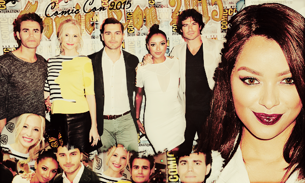 ‡ VAMPIREDIARIESWEB ________#Article Convention: Comic Con 2015 «You and Katherine have a lot more in commun than just your looks.»_____'.____~ _Création_ ¦ _Inspi décoration_ ¦ _Newsletter_