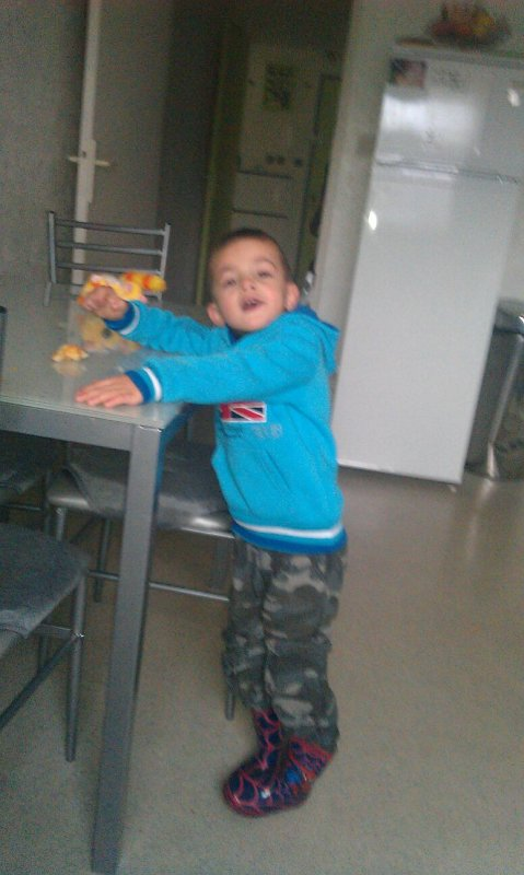 Mon neveu Kylian :))