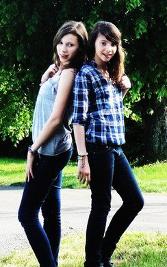 Mes petites soeurs, les princesses de ma vie ♥