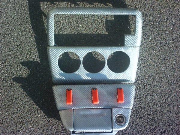Pour l'intérieur: la console central