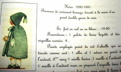 """""""Bambino"""" petit frère de Bleuette 1930  suite"""