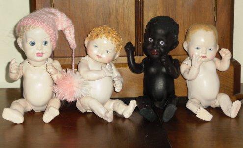 Création de  4 Bébés
