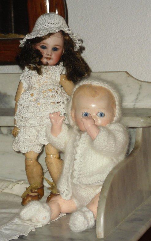 Bleuette et son petit frère Bambino