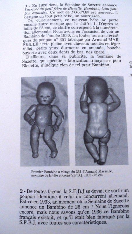 Bambino petit frère de Bleuette  (suite)