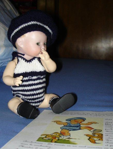 Trousseau Bambino petit frère de la Poupée Bleuette