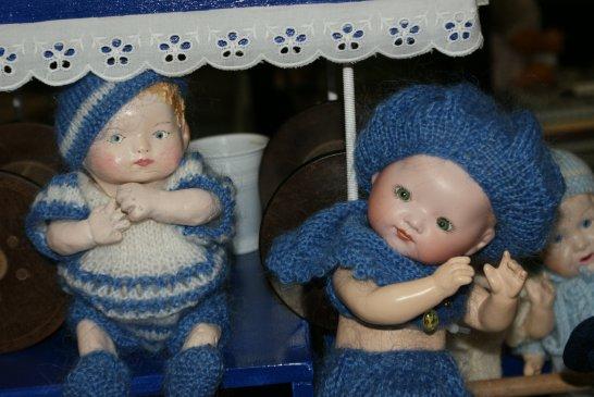 """""""Bambino"""" Petit Frère de Bleuette à vendre création type Asiatique"""