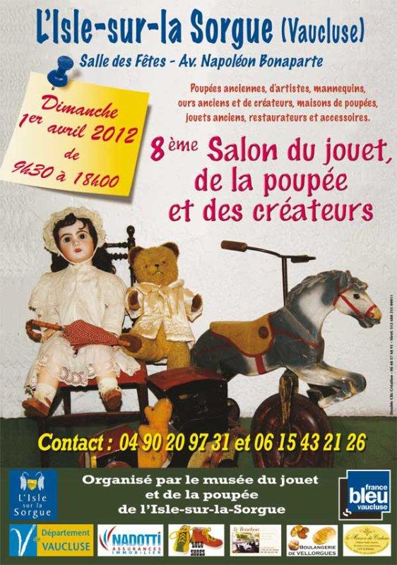 Bambino petit frère de Bleuette sera présent à L'Isle-sur la Sorgues le 1er avril 2012