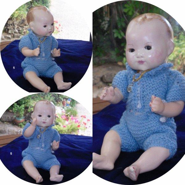 """Bambino Petit Frère de Bleuette mes """"créations à vendre"""""""