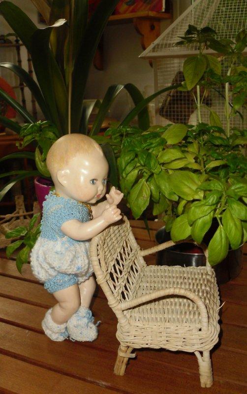 Bambino petit Frère de Bleuette vendu,  bien arrivé nouvelle layette !....