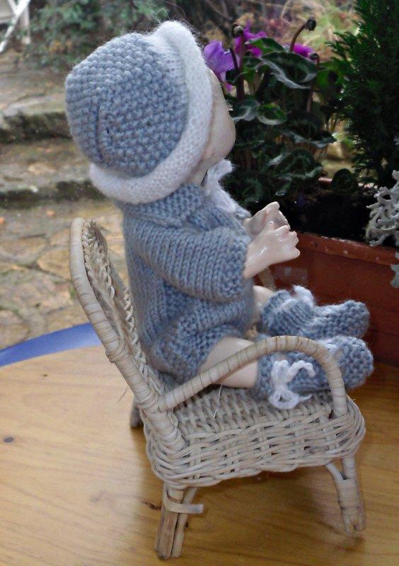 Bambino Petit Frère de Bleuette  à la vente (mes créations)