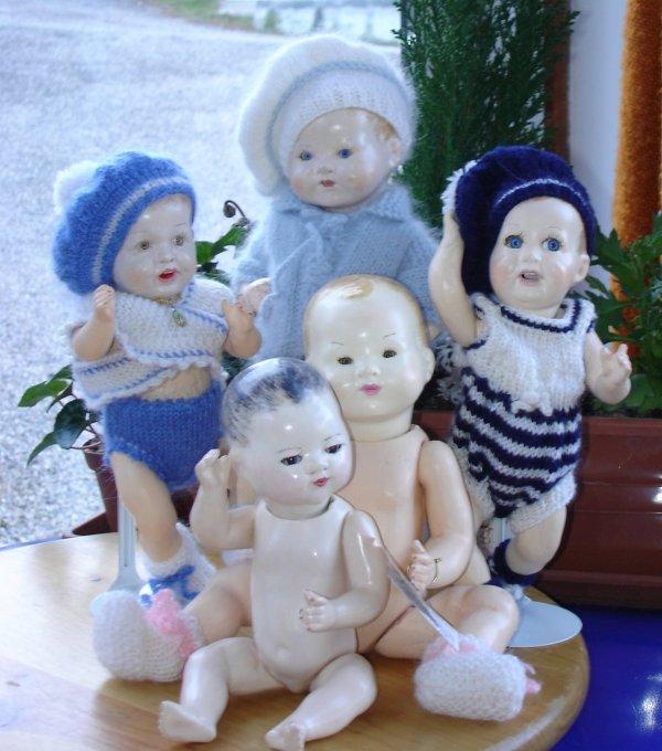 Moule Bambino petit frère de Bleuette AM 351  et Simon and Halbig Bebe Funny