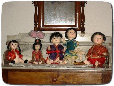Bébés Japonais en Gofun