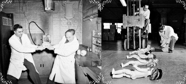 1935 à 1955 Usines à  Poupées