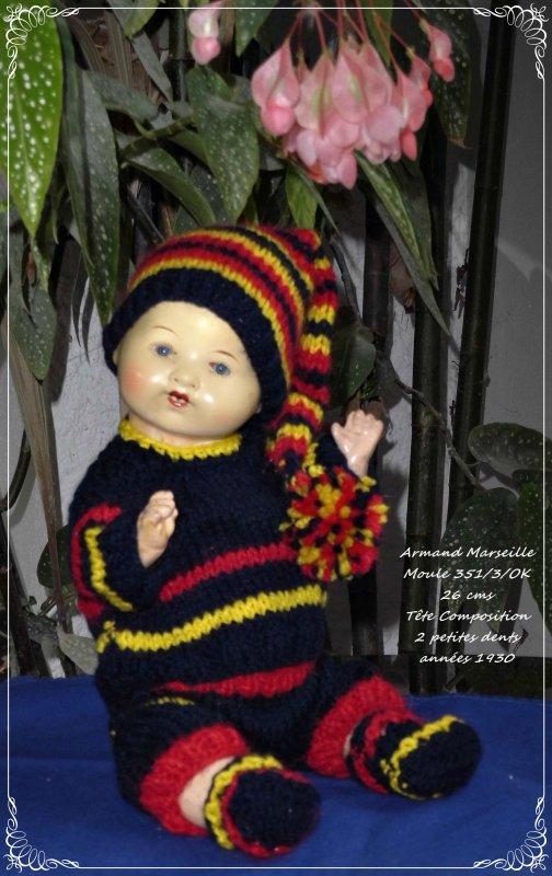 Bambino Petit Frère de Bleuette + A M moule 351