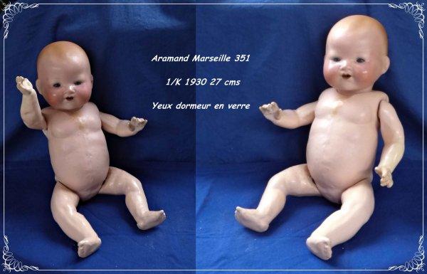 Armand Marseille 351 1/K   Départ