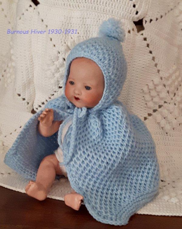 Layette Bambino petit Frère de Bleuette Tricotée