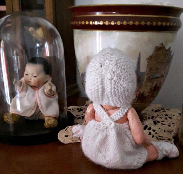 Bambino Tenue Angora Balbutiement hiver 1936