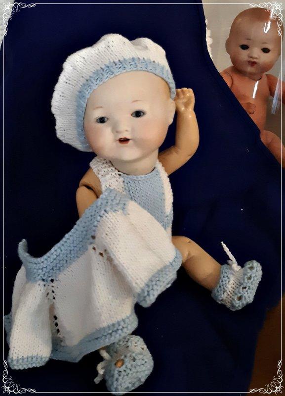 Jolie Reproduction Bambino Petit Frère de Bleuette