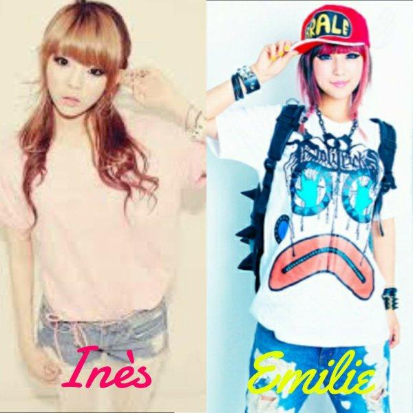 Park So Hyung ou Ines, Emilie Starish