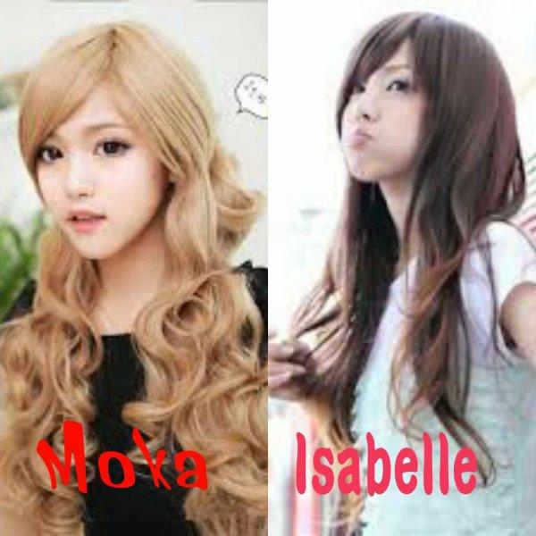 Kim Moka, Jeon Isabelle