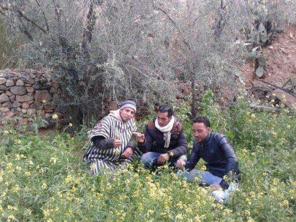 moi et ali et ahmed en azaln 2017