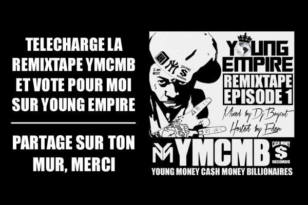 Retrouve Lévitique Josué sur la REMIXTAPE YOUNG EMPIRE sur le label YMCB déjà disponible !!!