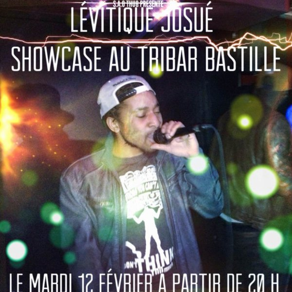 Levitique Josue en ShowCase, au Tribar à Bastille