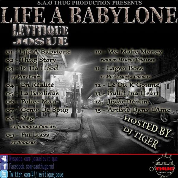 LIFE A BABYLONE / Levitique Josue - La Banlieue (2013)