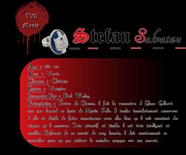 Stefan Salvatore  Newsletter   _|   Personnages   _|   Saison 1   _|   Saison 2    _|    Saison 3    _|  Saison 4