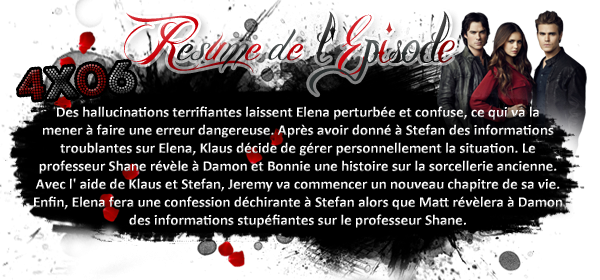 ♦ TheVampireDiaries-Mania.skyblog.com, Blog Source sur la série The Vampire Diaries  __Article : Saison 4 - Episode 06 : We all go a Little Mad Sometimes_____________Newsletter_ | _Création_ | _Décoration__