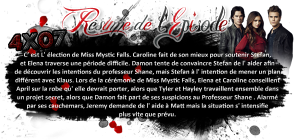 ♦ TheVampireDiaries-Mania.skyblog.com, Blog Source sur la série The Vampire Diaries  __Article : Saison 4 - Episode 07 : My Brother's Keeper_______-________________Newsletter_ | _Création_ | _Décoration__