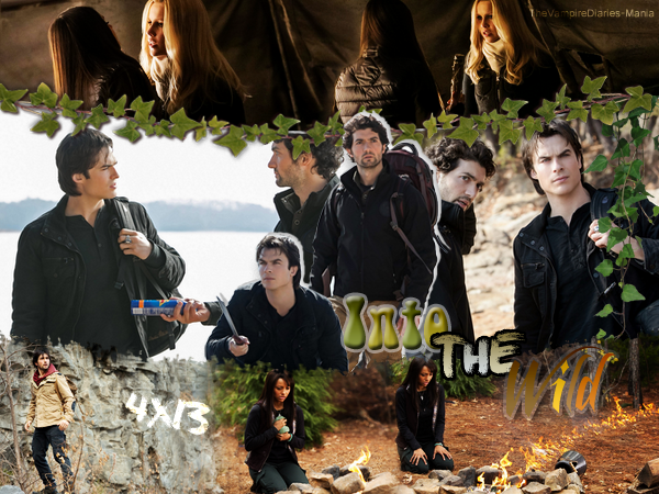 ♦ TheVampireDiaries-Mania.skyblog.com, Blog Source sur la série The Vampire Diaries  __Article : Saison 4 - Episode 13 : Into the Wild______________________________Newsletter_ | _Création_ | _Décoration__
