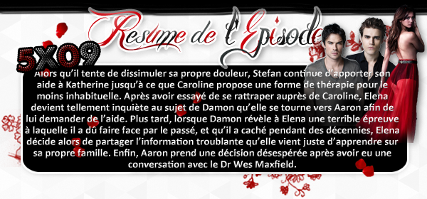 ♦ TheVampireDiaries-Mania.skyblog.com, Blog Source sur la série The Vampire Diaries  __Article : Saison 5 - Episode 09_________________________________________Newsletter_ | _Création_ | _Décoration__