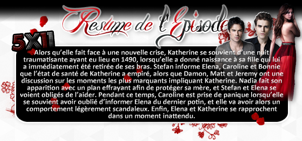 ♦ TheVampireDiaries-Mania.skyblog.com, Blog Source sur la série The Vampire Diaries  __Article : Saison 5 - Episode 11__________________________________________Newsletter_ | _Création_ | _Décoration__